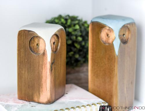 Scrap wood projects – Owls