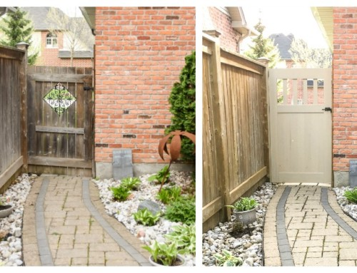 DIY Garden Gate – ever wonder what goes into a blog post?