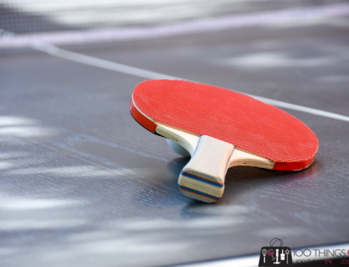 I made a ping-pong table!