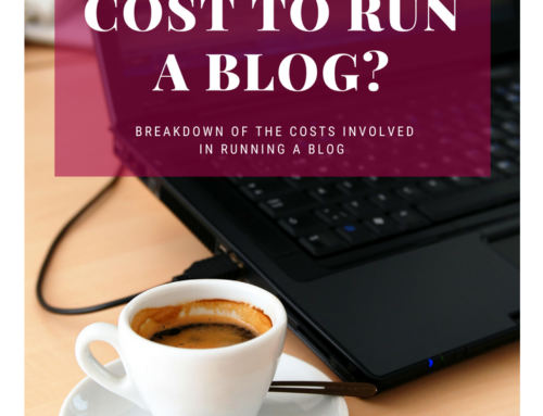 How much does it cost to run a blog?