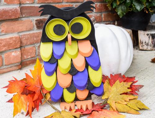 Scrapwood Hallowe'en Owl