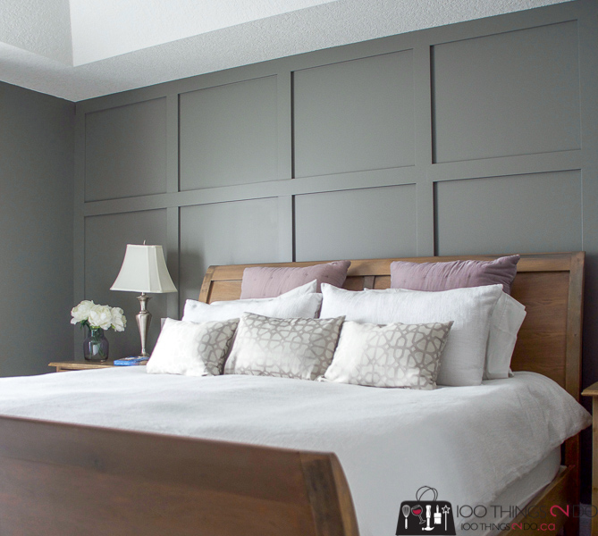 board and batten in master bedroom archives   100 things 2 do