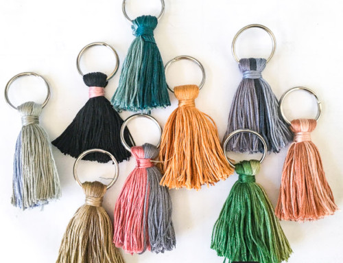 Embroidery Floss Tassels