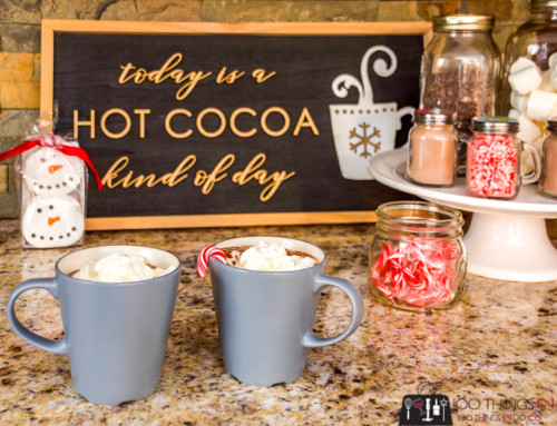 Today is a hot cocoa kind of day…