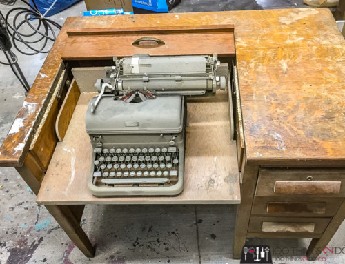 Grandma's Typewriter Desk