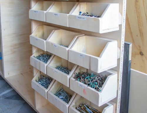 #OrganizeThis – Small parts bins
