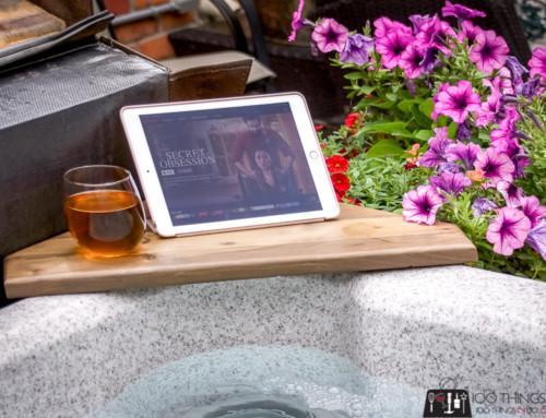 Bath shelf / Hot tub shelf