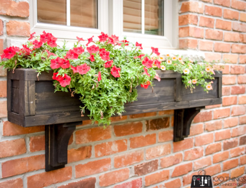 Scrap Wood Window Box