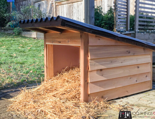 DIY Doghouse – Keep your pets warm this winter