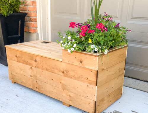 Porch Planter Bench