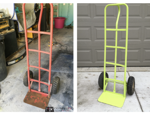 Refurbished hand truck