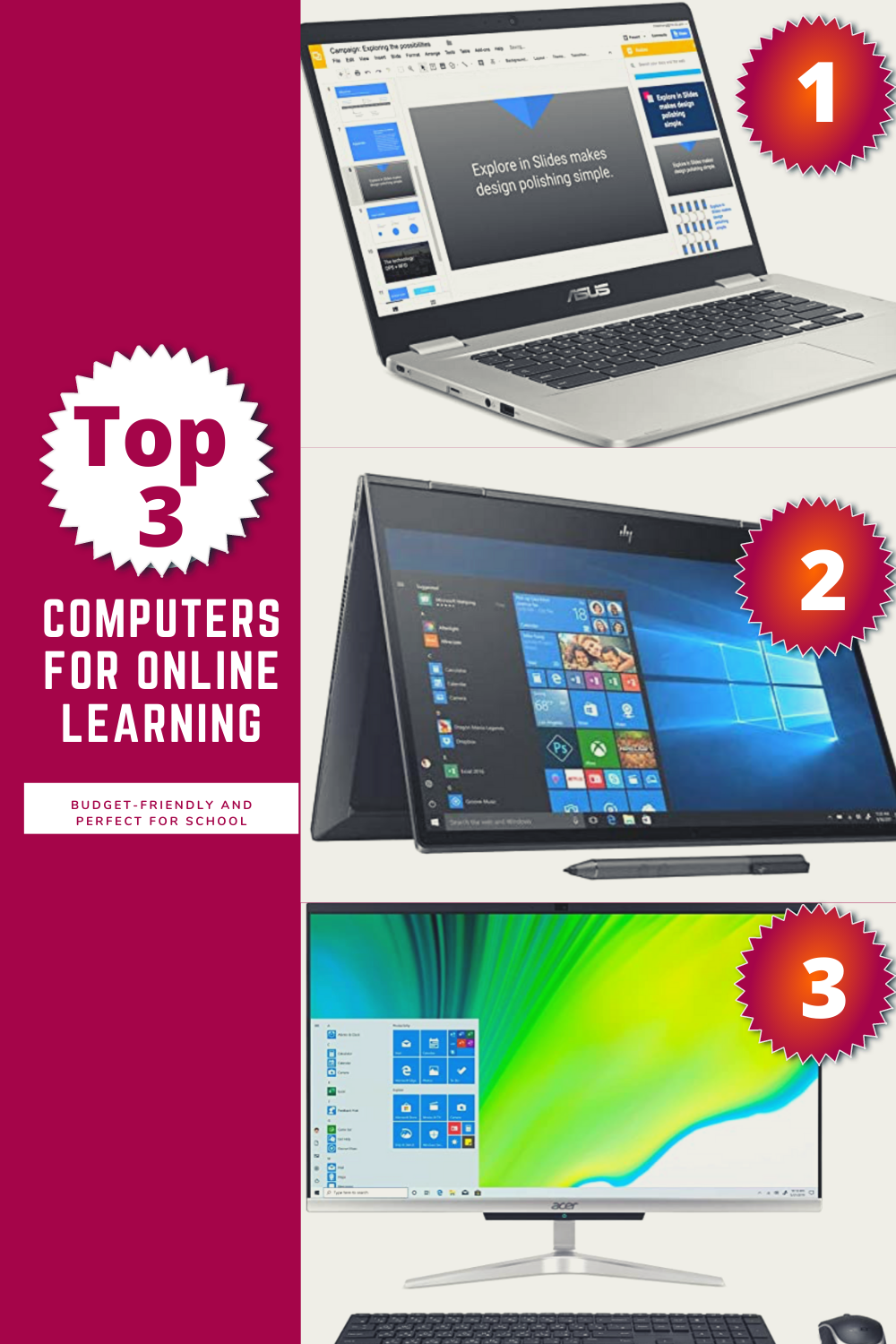 Best computers for at-home learning