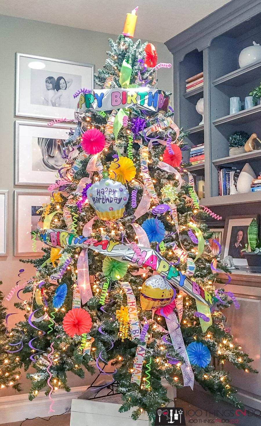 Birthday tree, birthday Christmas tree, November birthday, December birthday
