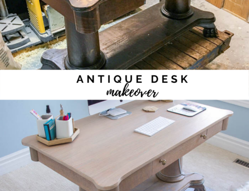 Antique desk makeover to die for!