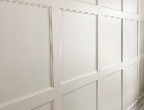 Gorgeous DIY Wainscoting you can do in a day!