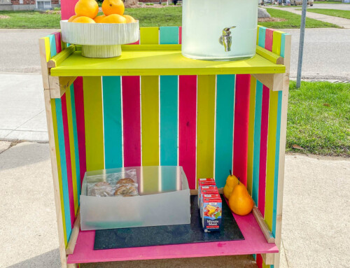 Folding Lemonade Stand
