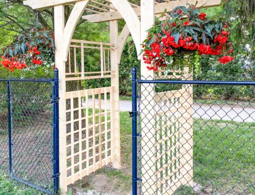 DIY Garden Arbour / DIY Garden Arbor