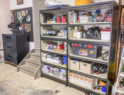CHEAP garage cabinets to organize your space
