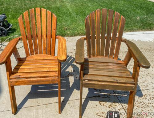 Making over Muskoka chairs