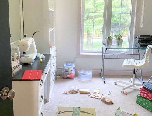 Making a home office for a teenager