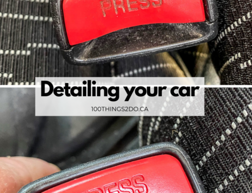 How to thoroughly detail your car's interior at home