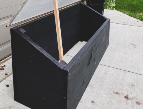 DIY Cold frame / DIY mini-greenhouse