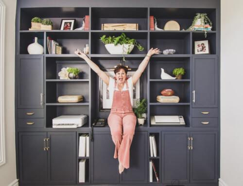 DIY Home Office Built-ins Part 2