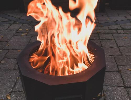 Loving my smokeless fire pit!